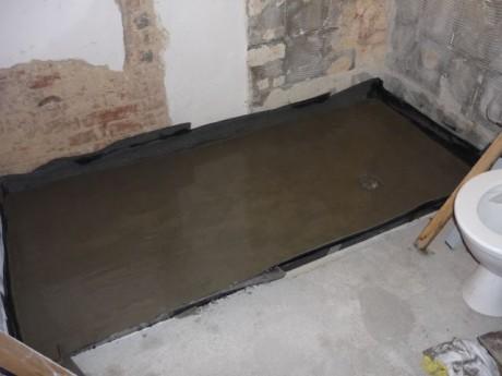 Koupelna podlaha