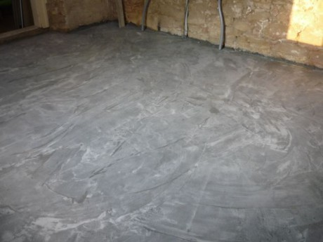 Betonová podlaha skladba