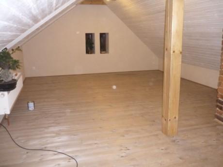 Podkrovie podlaha